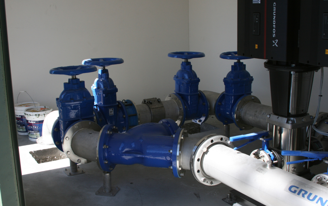 Roma One Booster Pump Station Project Image
