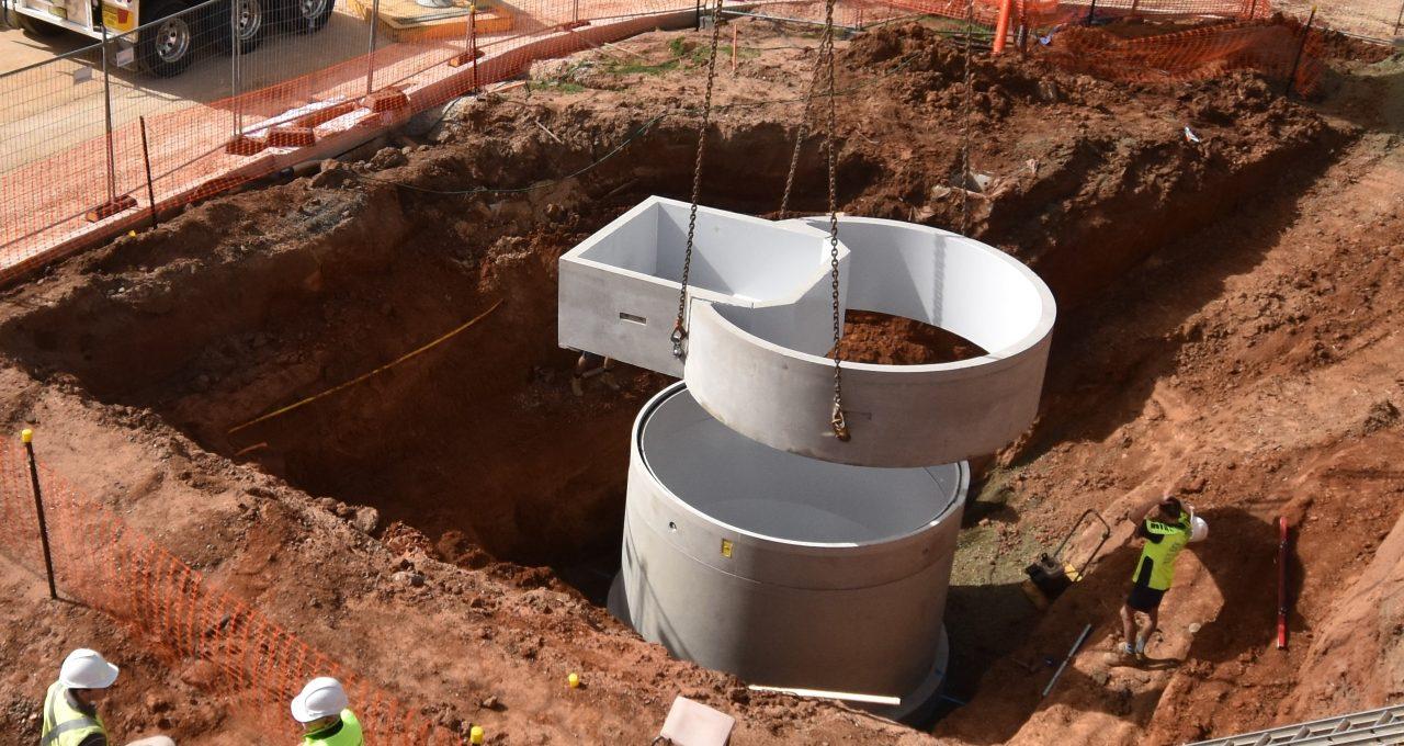 Precast Concrete Pump Stations Image