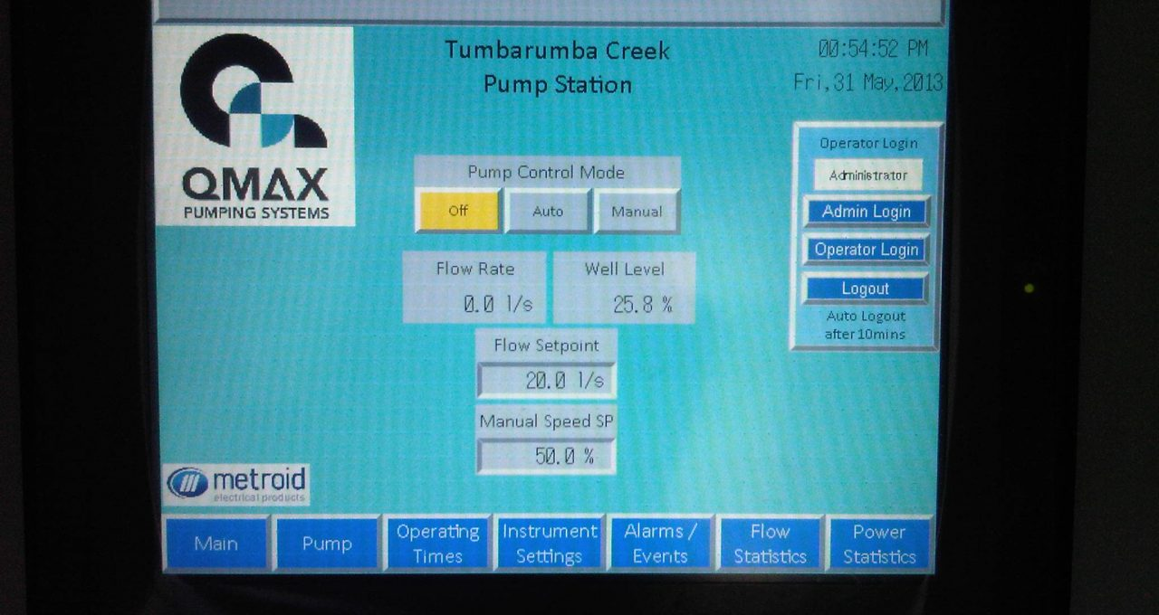 Pump System for Tumbarumba Water Supply Image