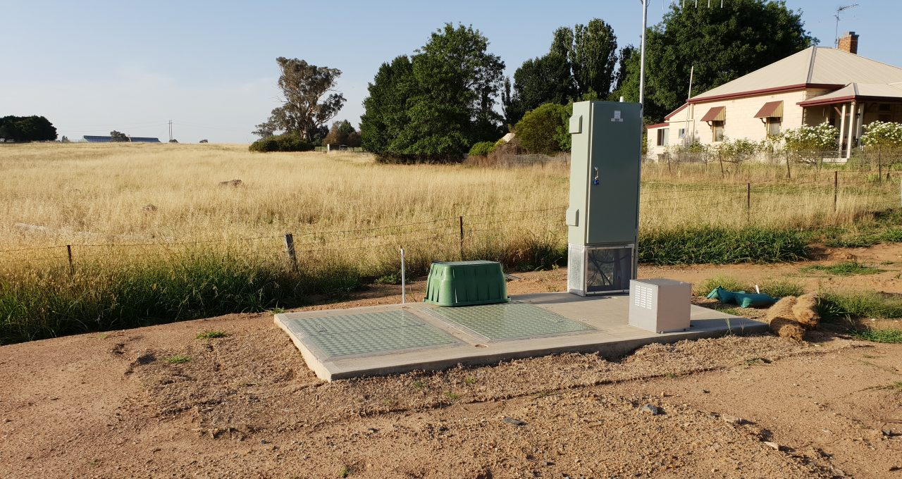 Boorowa Showground Sewer Pump Station Project Image