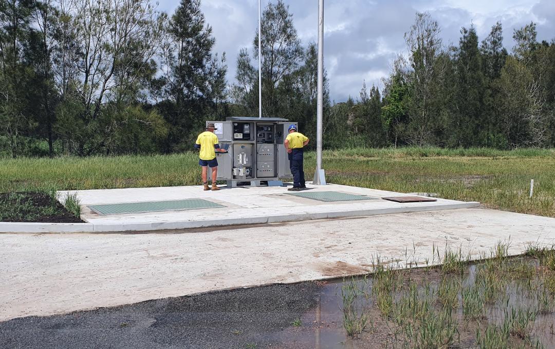 Port Macquarie Sewer Pump Station