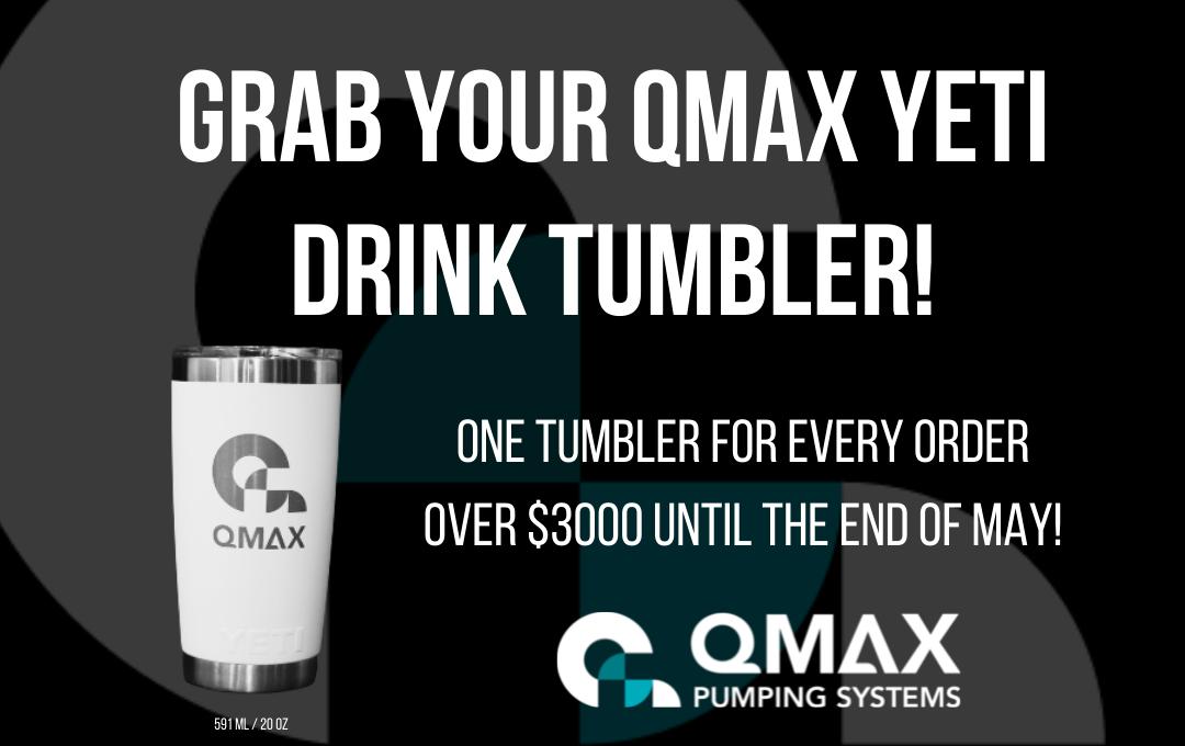 Grab your QMax Yeti Drink Tumbler! Image
